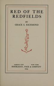 Cover of: Red of the Redfields