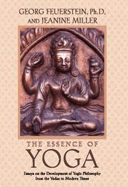 Cover of: The essence of yoga