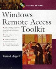 Cover of: Windows remote access toolkit