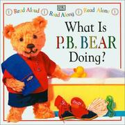 Cover of: What is P.B. Bear doing?