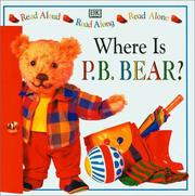 Cover of: Where is P.B. Bear?