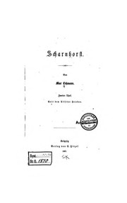 Cover of: Scharnhorst