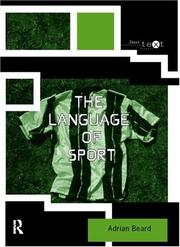 Cover of: The language of sport