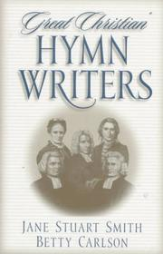Cover of: Great Christian hymn writers