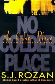Cover of: No colder place: A Bill Smith/Lydia Chin Mystery (Lydia Chin/Bill Smith Novel)
