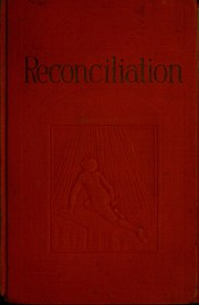 Cover of: Reconciliation