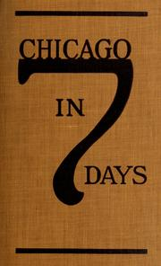Cover of: Chicago in seven days