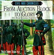 Cover of: From auction block to glory