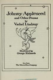 Cover of: Johnny Appleseed: and other poems