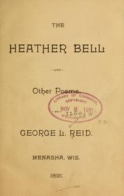 Cover of: The heather bell
