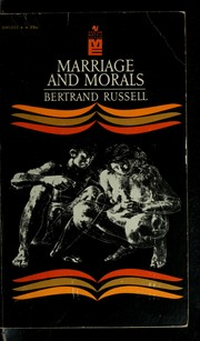 Cover of: Marriage and morals