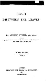 Cover of: Fruit between the leaves.