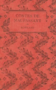 Cover of: Contes de Maupassant