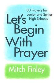 Cover of: Let's begin with prayer