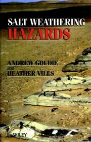 Cover of: Salt weathering hazard
