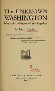 Cover of: The unknown Washington