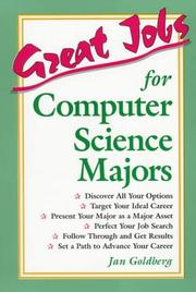 Cover of: Great jobs for computer science majors