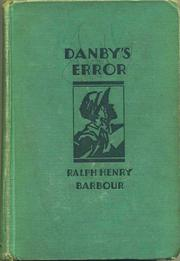 Cover of: Danby's Error