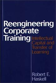 Cover of: Reengineering corporate training