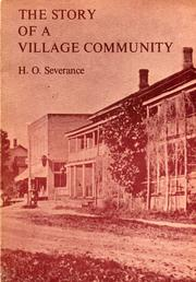 Cover of: The story of a village community