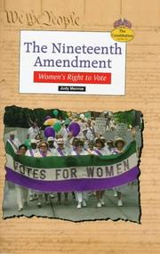 Cover of: The Nineteenth Amendment: women's right to vote