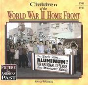 Cover of: Children of the World War II home front