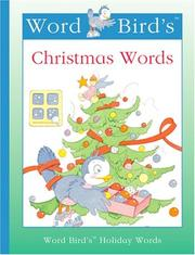 Cover of: Word Bird's Christmas words