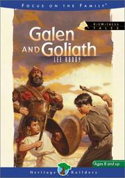 Cover of: Galen and Goliath
