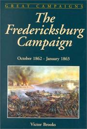 Cover of: The Fredericksburg Campaign