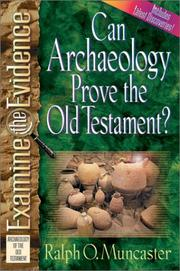 Cover of: Can archaeology prove the Old Testament?