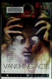 Cover of: Vanishing acts