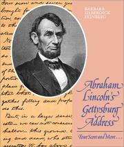 Cover of: Abraham Lincoln's Gettysburg Address: four score and more