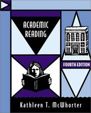Cover of: Academic reading