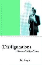 Cover of: (Dis)figurations: discourse/critique/ethics