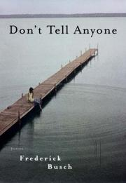 Cover of: Don't tell anyone