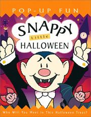 Cover of: Snappy little Halloween