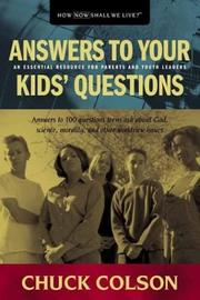 Cover of: Answers to your kids' questions