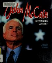 Cover of: John McCain: serving his country