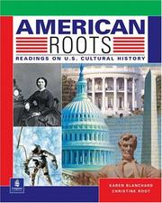 Cover of: American roots: readings on U.S. cultural history