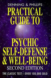 Cover of: Practical guide to psychic self-defense