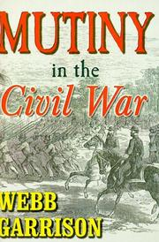 Cover of: Mutiny in the Civil War