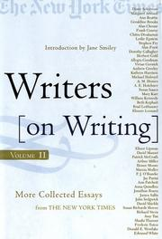 Cover of: Writers on writing