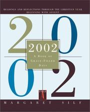 Cover of: 2002, a book of grace-filled days