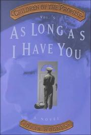 Cover of: As long as I have you