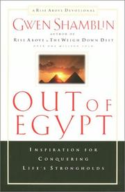 Cover of: Out of Egypt