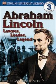 Cover of: Abraham Lincoln: lawyer, leader, legend