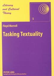 Cover of: Tasking textuality