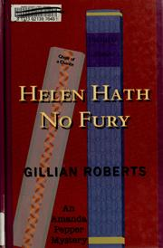 Cover of: Helen hath no fury