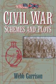 Cover of: Civil War schemes and plots