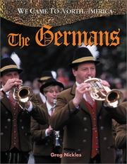 Cover of: The Germans